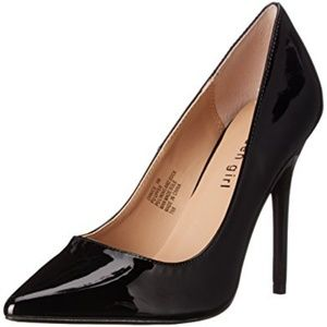Madden Girl Black Patent Heel - Size 7 NWT In Box